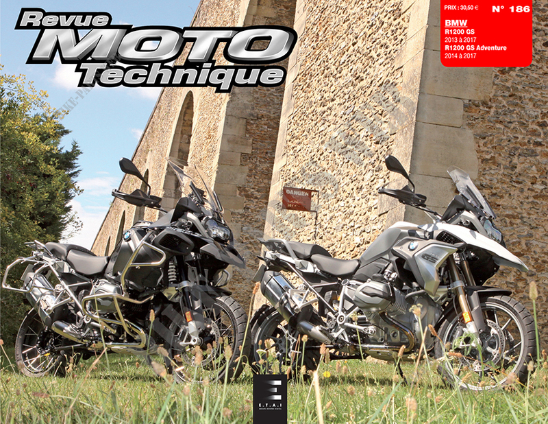 R1200 GS 2013 à  2017, R1200 GS Adventure 2014 à  2017 - RMT186
